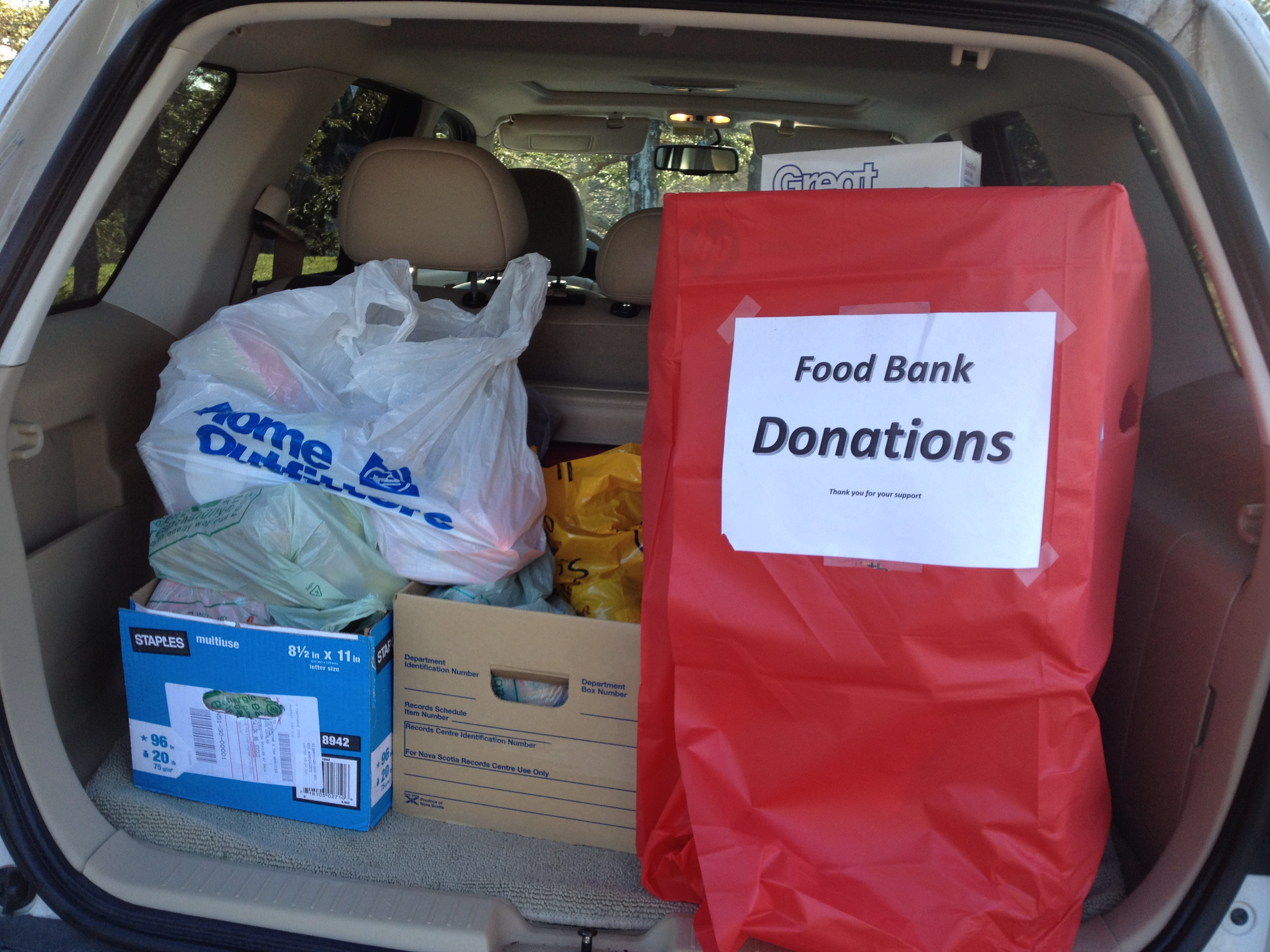 Food Bank Support